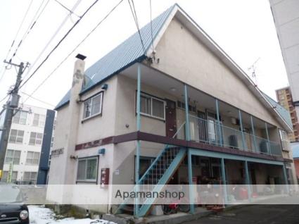 北海道札幌市豊平区、美園駅徒歩12分の築36年 2階建の賃貸アパート