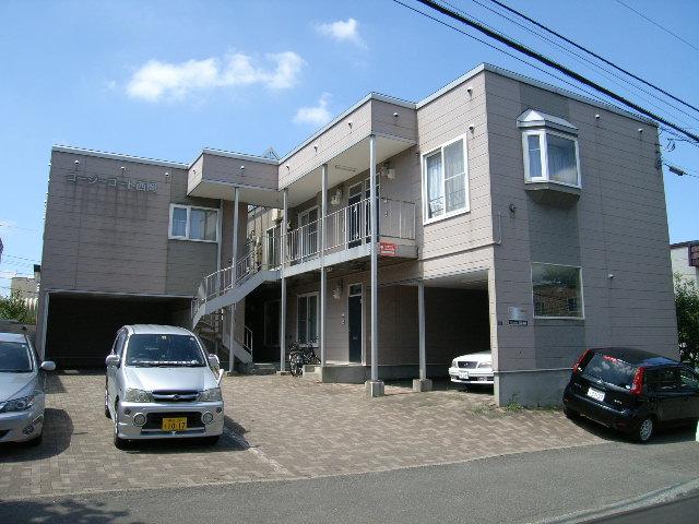 北海道札幌市豊平区、南平岸駅徒歩22分の築19年 2階建の賃貸アパート