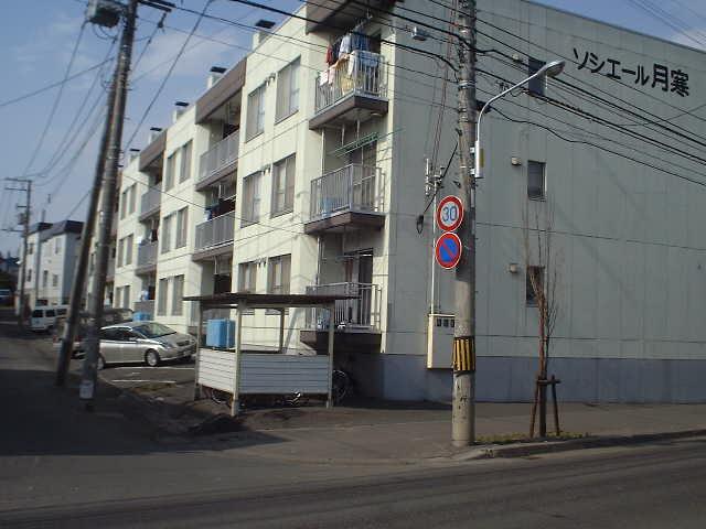 北海道札幌市豊平区、南郷7丁目駅徒歩16分の築29年 3階建の賃貸マンション