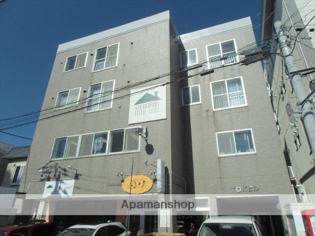 北海道札幌市豊平区、美園駅徒歩16分の築20年 4階建の賃貸マンション