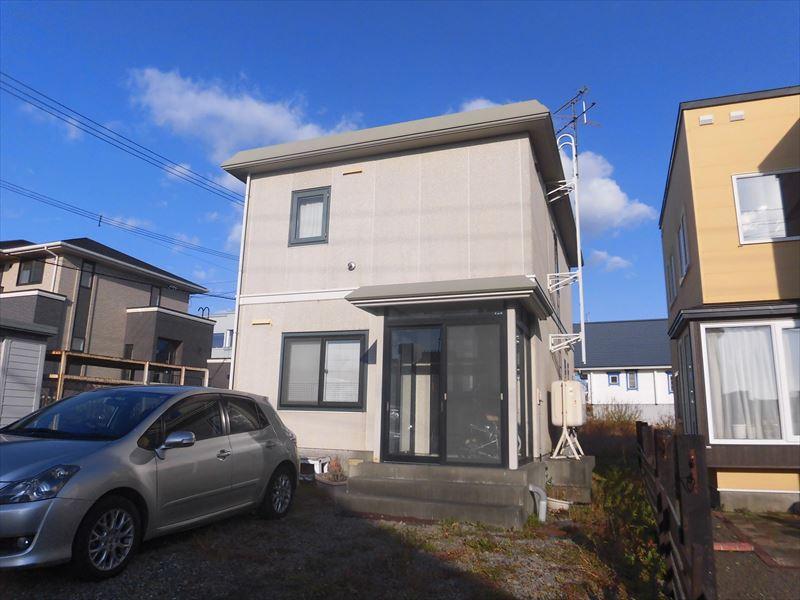 北海道北広島市の築22年 2階建の賃貸一戸建て
