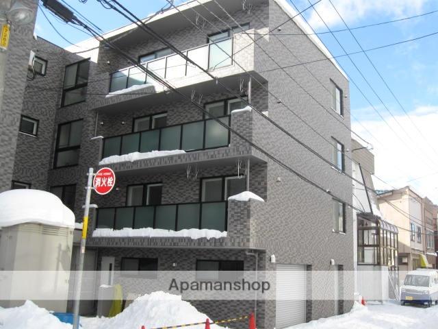北海道札幌市豊平区、東札幌駅徒歩16分の築6年 4階建の賃貸マンション