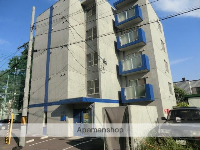 北海道札幌市豊平区、菊水駅徒歩16分の築8年 5階建の賃貸マンション