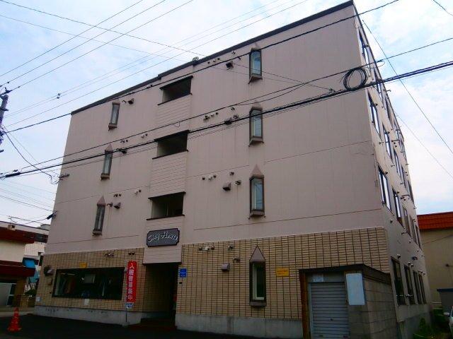 北海道札幌市豊平区、白石駅徒歩18分の築32年 4階建の賃貸マンション