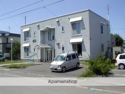 北海道札幌市清田区、新さっぽろ駅中央バスバス19分平岡7−2下車後徒歩1分の築30年 2階建の賃貸アパート