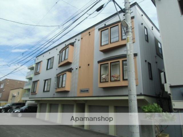 北海道札幌市豊平区、白石駅徒歩17分の築13年 3階建の賃貸アパート