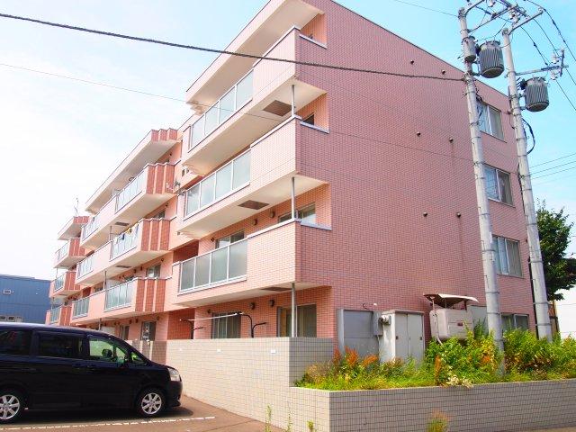 北海道札幌市豊平区、南平岸駅徒歩24分の築16年 4階建の賃貸マンション