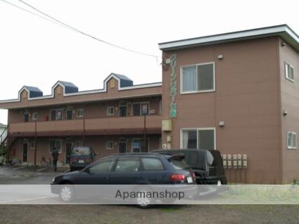北海道亀田郡七飯町の築21年 2階建の賃貸アパート