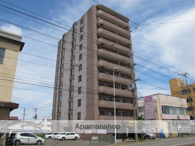 北海道函館市、魚市場通駅徒歩1分の築26年 8階建の賃貸マンション