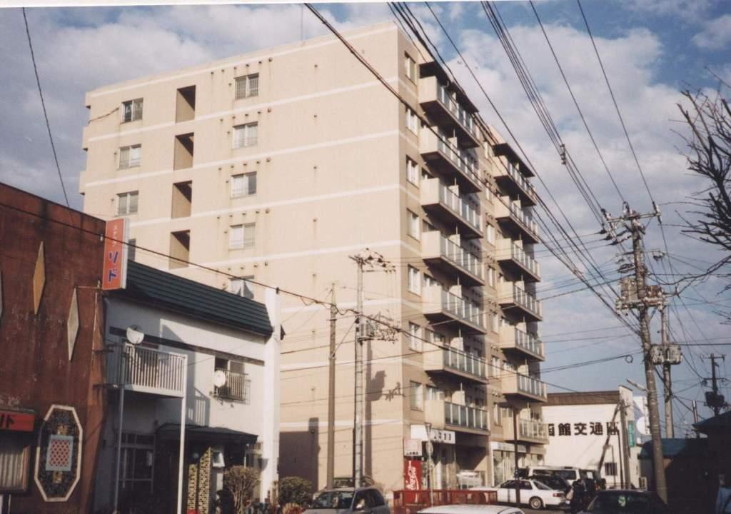 北海道函館市、中央病院前駅徒歩2分の築25年 8階建の賃貸マンション