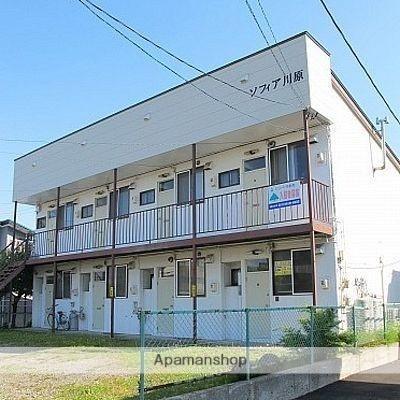北海道函館市、駒場車庫前駅徒歩13分の築27年 2階建の賃貸アパート