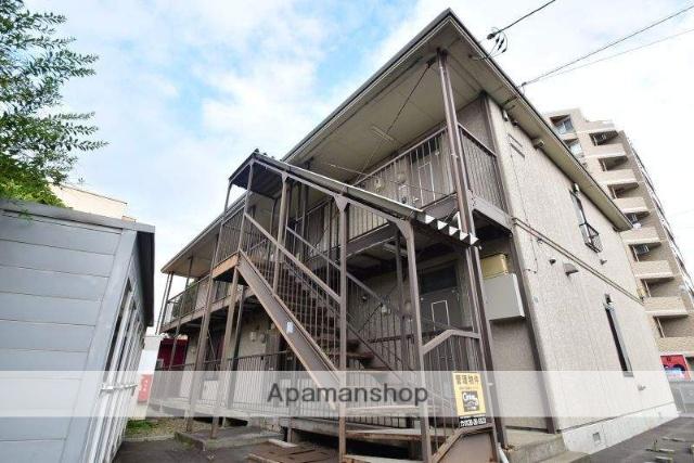 北海道函館市、深堀町駅徒歩11分の築21年 2階建の賃貸アパート