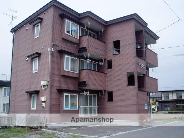 北海道函館市、五稜郭公園前駅徒歩14分の築17年 3階建の賃貸アパート