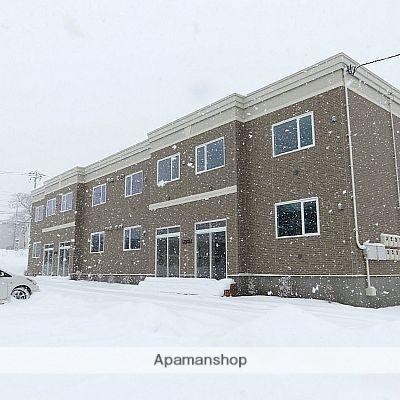 北海道亀田郡七飯町の築1年 2階建の賃貸アパート