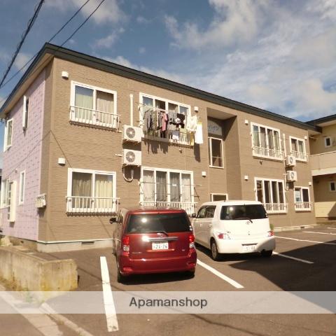 北海道函館市、湯の川駅徒歩17分の築13年 2階建の賃貸アパート