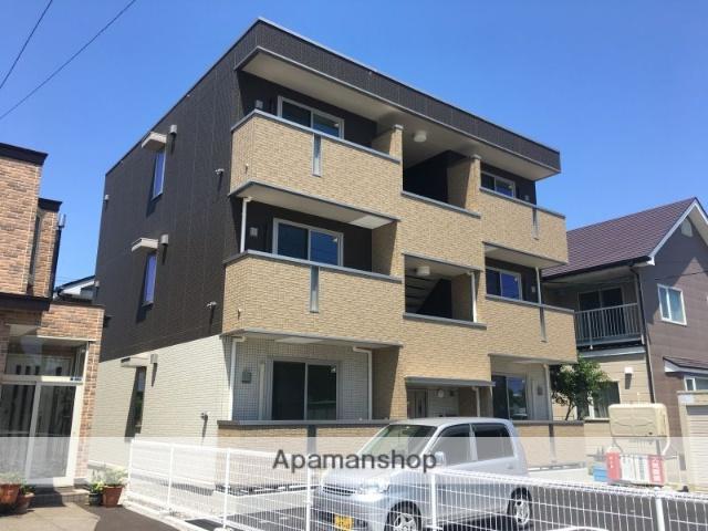 北海道函館市、松風町駅徒歩10分の新築 3階建の賃貸アパート