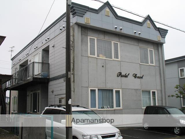 北海道北斗市、七重浜駅徒歩2分の築26年 2階建の賃貸アパート