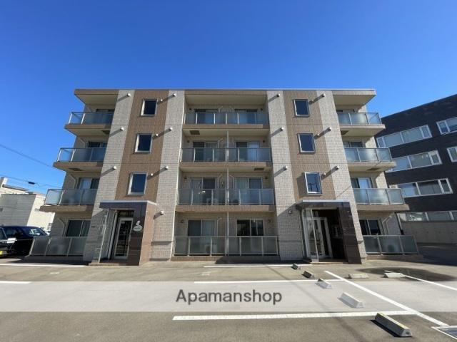北海道函館市、昭和橋駅徒歩5分の新築 4階建の賃貸マンション