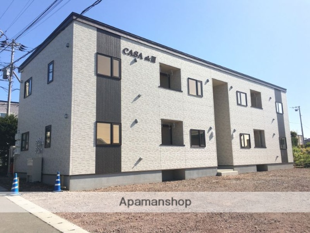 北海道亀田郡七飯町、七飯駅徒歩12分の新築 2階建の賃貸アパート