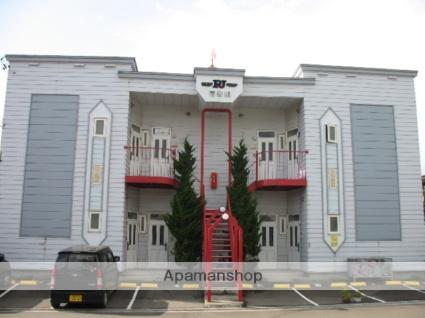 北海道函館市、桔梗駅徒歩12分の築26年 2階建の賃貸アパート