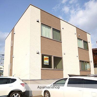 北海道函館市、柏木町駅バス10分神山通下車後徒歩5分の築8年 2階建の賃貸アパート
