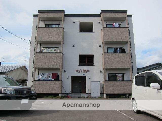 北海道函館市、桔梗駅徒歩5分の築10年 3階建の賃貸アパート