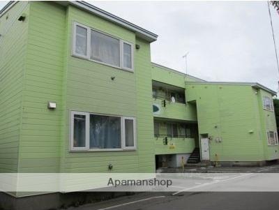 北海道函館市、市民会館前駅徒歩8分の築27年 2階建の賃貸アパート