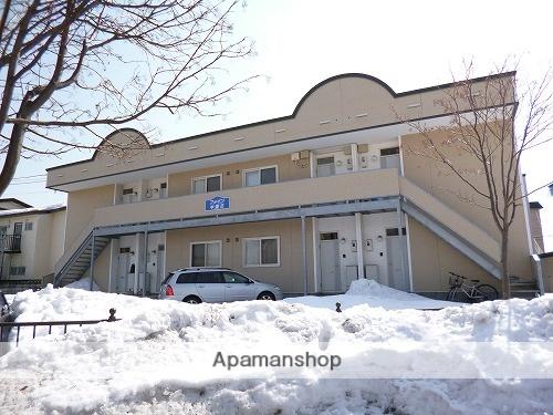 北海道函館市、五稜郭公園前駅徒歩20分の築17年 2階建の賃貸アパート