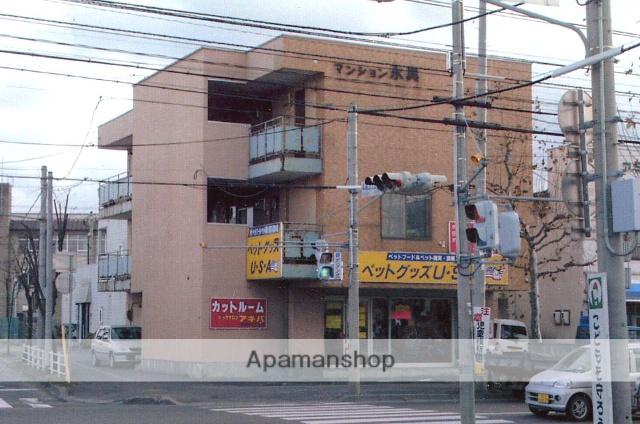 北海道函館市、深堀町駅徒歩14分の築30年 4階建の賃貸マンション