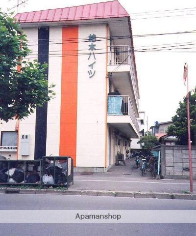 北海道函館市、競馬場前駅徒歩10分の築49年 2階建の賃貸アパート