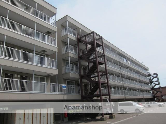 北海道函館市、函館駅函館バスバス39分北大前下車後徒歩5分の築21年 5階建の賃貸マンション