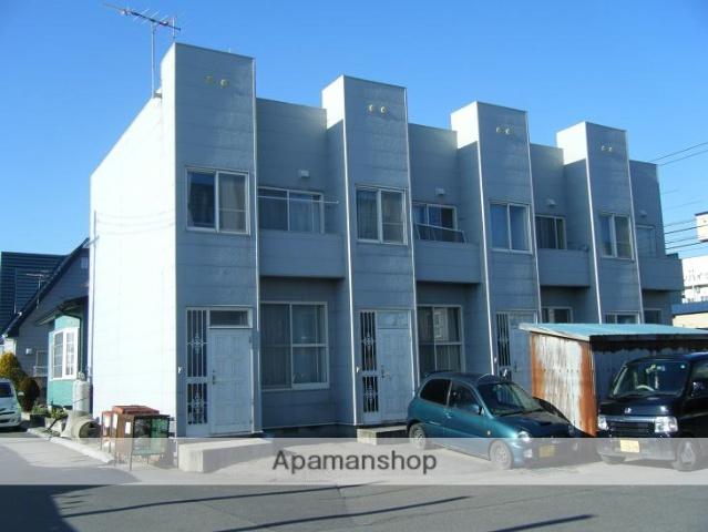 北海道北斗市の築31年 2階建の賃貸アパート
