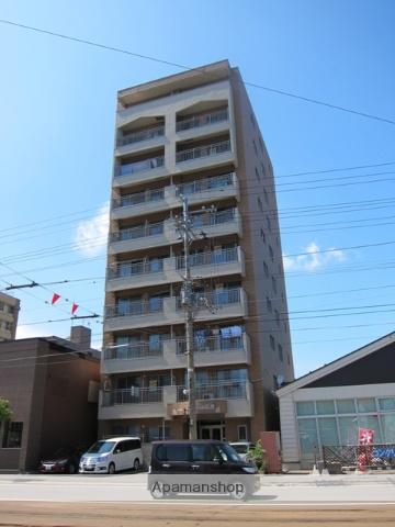 北海道函館市、宝来町駅徒歩8分の築17年 10階建の賃貸マンション
