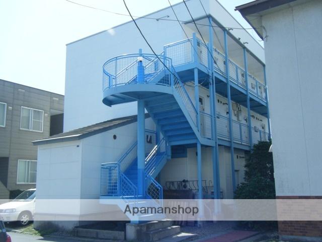 北海道函館市、杉並町駅徒歩9分の築31年 3階建の賃貸アパート