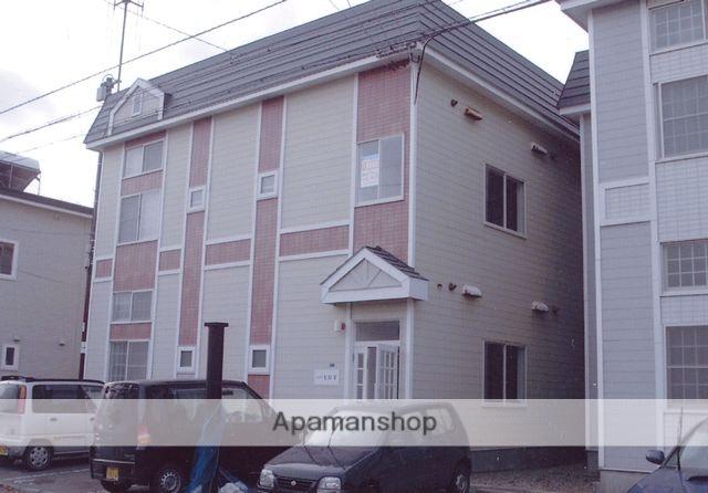 北海道函館市、深堀町駅徒歩17分の築26年 2階建の賃貸アパート