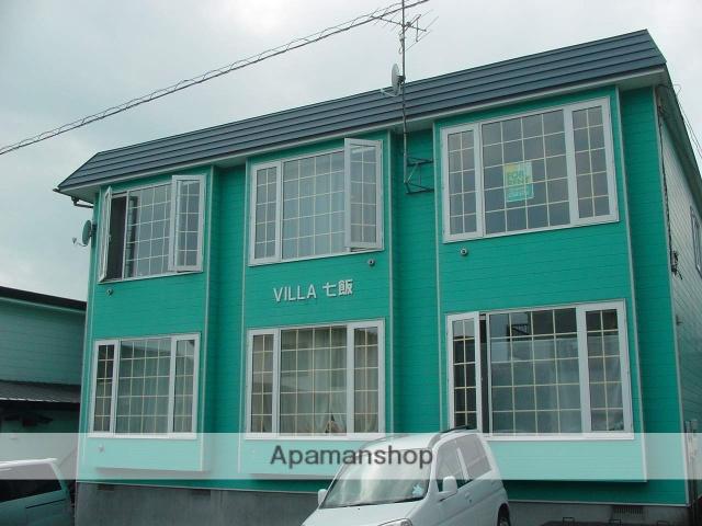 北海道亀田郡七飯町、七飯駅徒歩12分の築19年 2階建の賃貸アパート