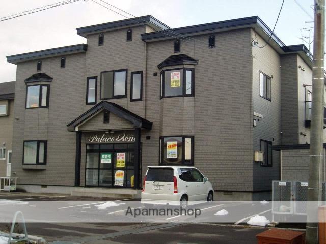 北海道函館市の築19年 2階建の賃貸アパート