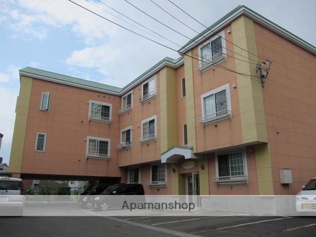 北海道函館市、五稜郭駅徒歩5分の築14年 3階建の賃貸アパート
