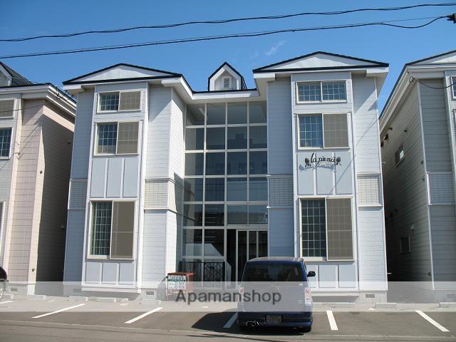 北海道函館市、新川町駅徒歩4分の築28年 2階建の賃貸アパート