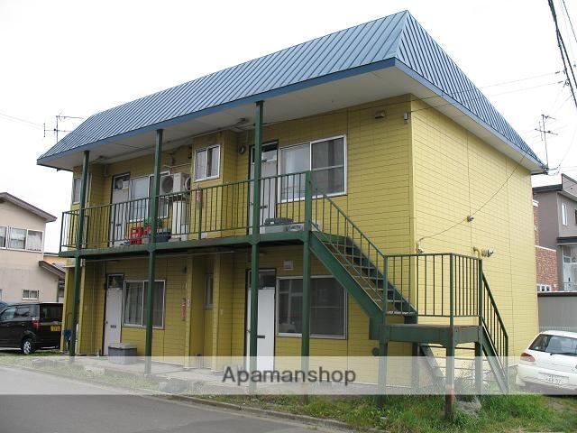 北海道函館市の築42年 2階建の賃貸アパート