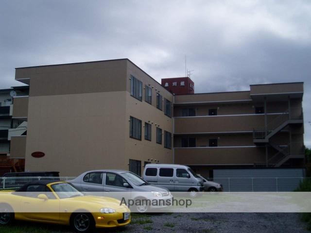 北海道函館市、函館駅徒歩13分の築10年 3階建の賃貸アパート