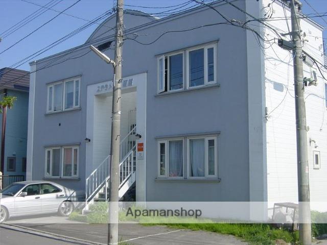 北海道函館市、五稜郭駅徒歩14分の築26年 2階建の賃貸アパート