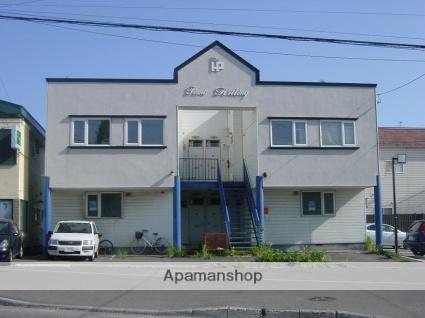 北海道函館市、五稜郭駅徒歩6分の築25年 2階建の賃貸アパート