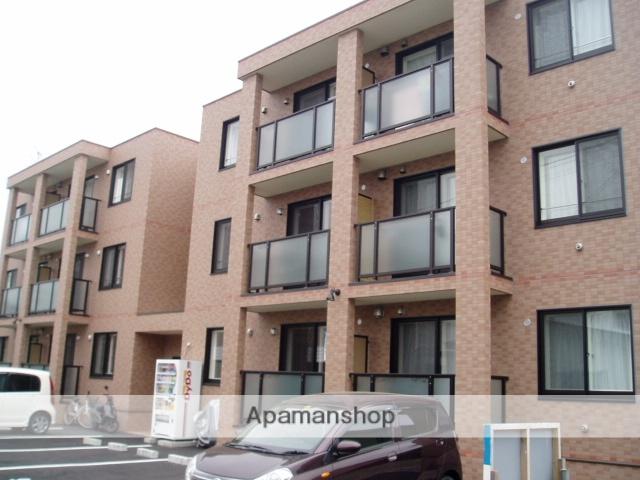 北海道函館市、駒場車庫前駅徒歩1分の築10年 3階建の賃貸マンション