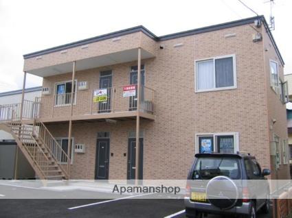 北海道北斗市、上磯駅徒歩8分の築9年 2階建の賃貸アパート