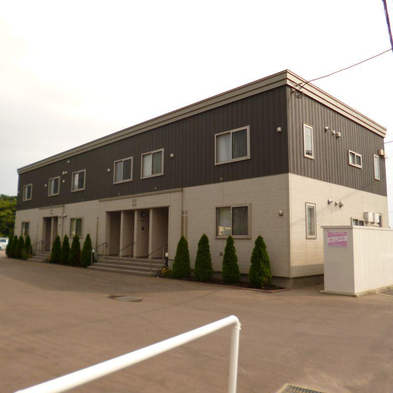 北海道函館市の築4年 2階建の賃貸アパート