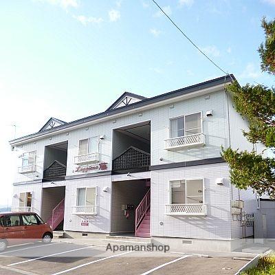 北海道亀田郡七飯町の築18年 2階建の賃貸アパート