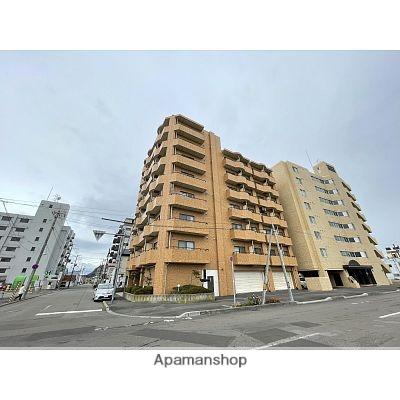 北海道函館市、千歳町駅徒歩9分の築25年 8階建の賃貸マンション