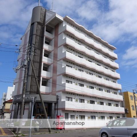 北海道函館市、五稜郭公園前駅徒歩19分の築25年 7階建の賃貸マンション