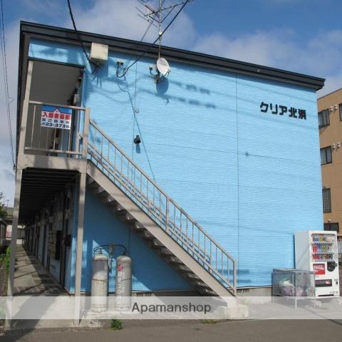 北海道函館市、五稜郭駅徒歩19分の築12年 2階建の賃貸アパート